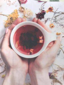 食べるお茶