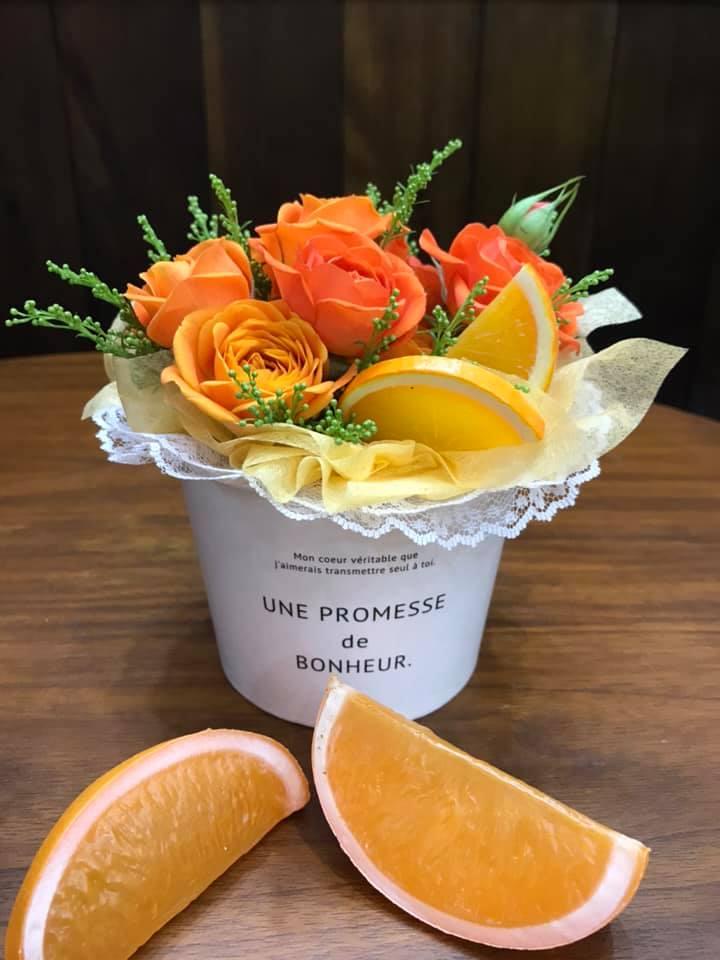 生花のアレンジ