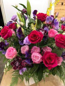 3回忌のお堂にお供えするお花