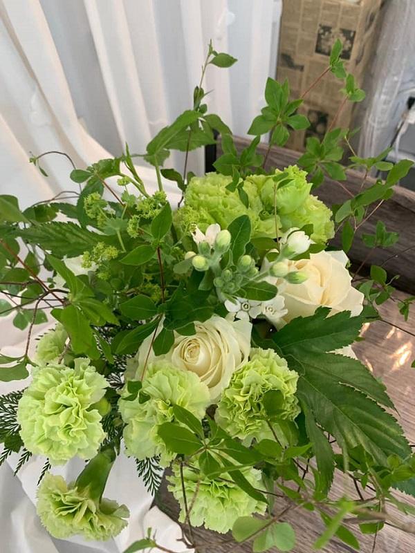6月の花束体験教室